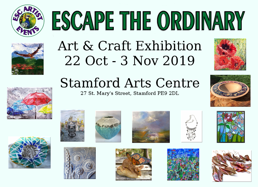 2019 Exhibitors at Stamford Arts Centre