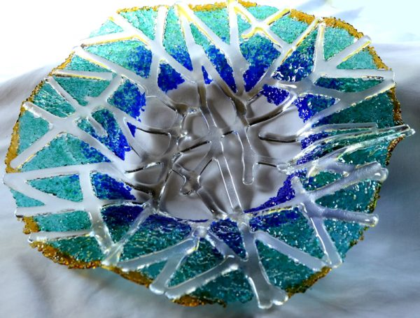 Glass bowl by Anita Ruiz