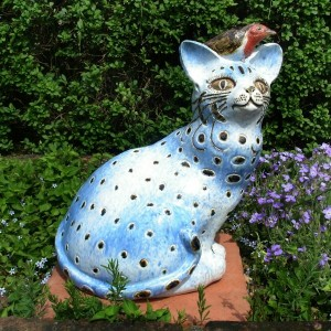 Tracy-Wright-Blue-Dot-Cat