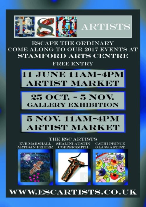 ESC Artists 2017 Events in Stamford, Lincolnshire