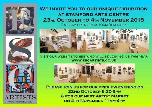 4th ESC Artists Exhibition in Stamford