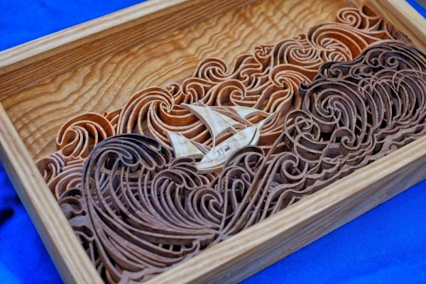 Fiona Kingdon Artist In Wood