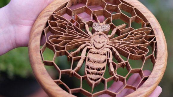 Fiona Kingdon Artist In Wood