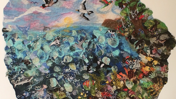 'The Great Barrier Reef' by Eve Marshall