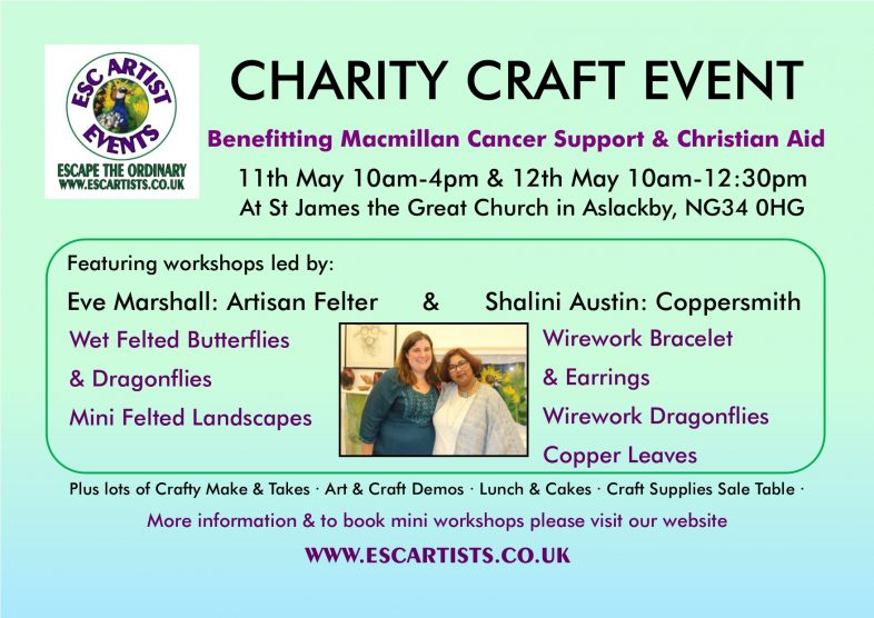Charity Craft Event in Aslackby