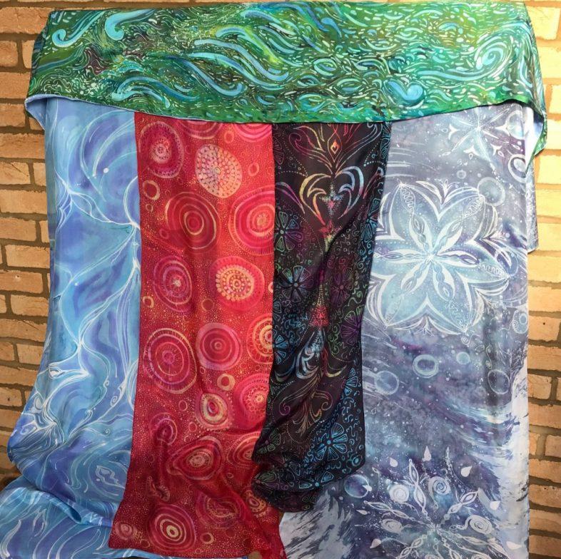 Claire RudinCambridge based Batik Artist