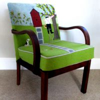 Rural Lincolnshire based Chair Stylist & Designer Ella Jenkins