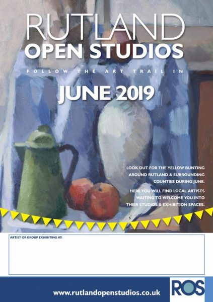 Lin Chatfields at Rutland Open Studios 2019