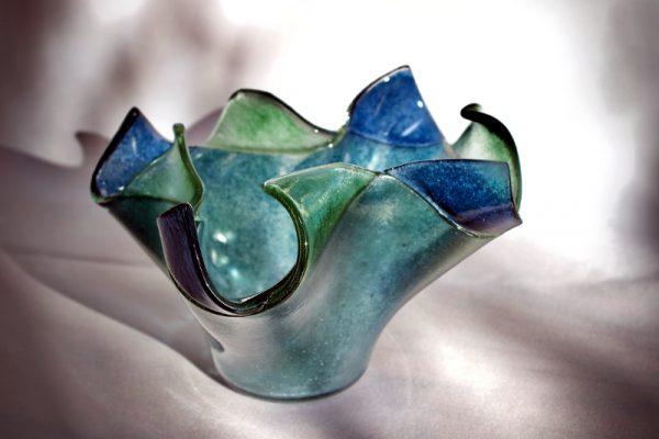 Glass bowl by Anita Ruiz