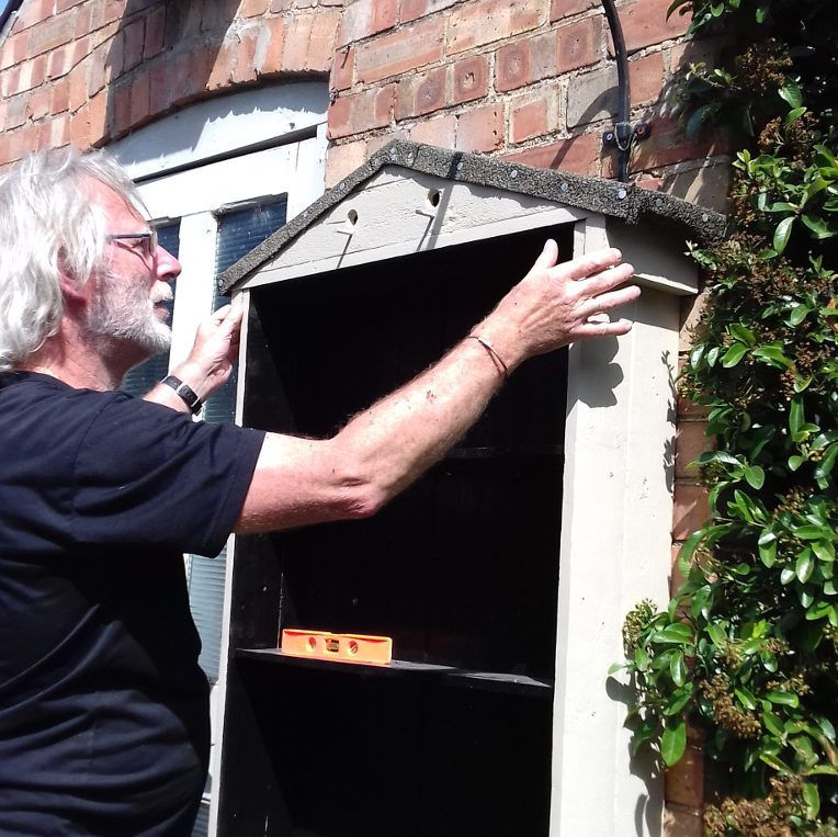 Stamford based Palletwood Upcycler Dave Austin is