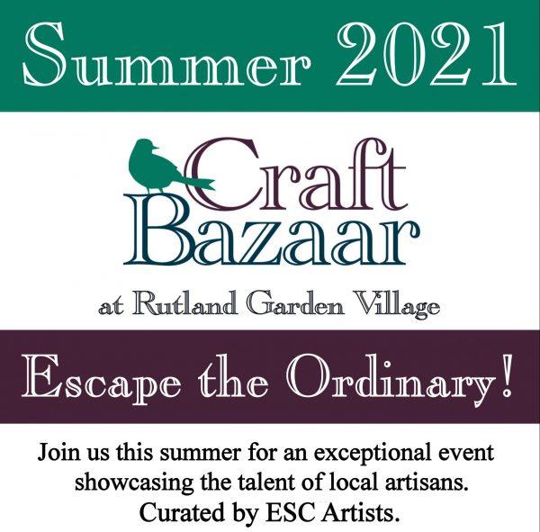 Rutland Garden Village Craft Bazaar in the Conservatory