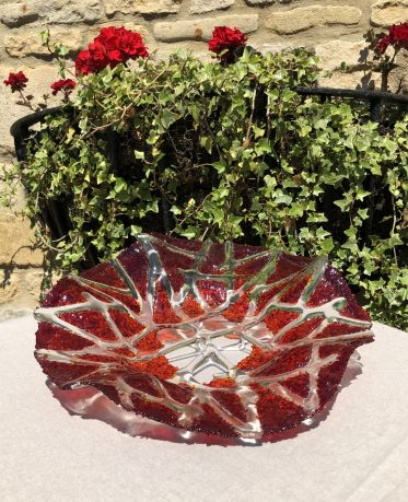 Stamford based Glass Artist Anita Ruiz